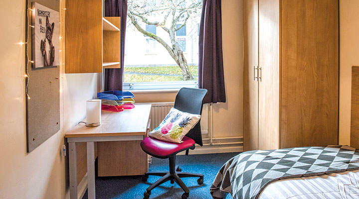 Student accommodation at the University of Aberdeen
